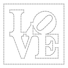 8 Images of Free Printable String Art Templates
