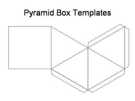 6 Images of Free Printable Pyramid Patterns