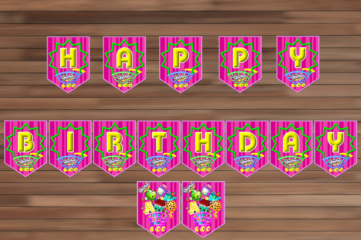 7 Images of S Hopkins Birthday Party Printables