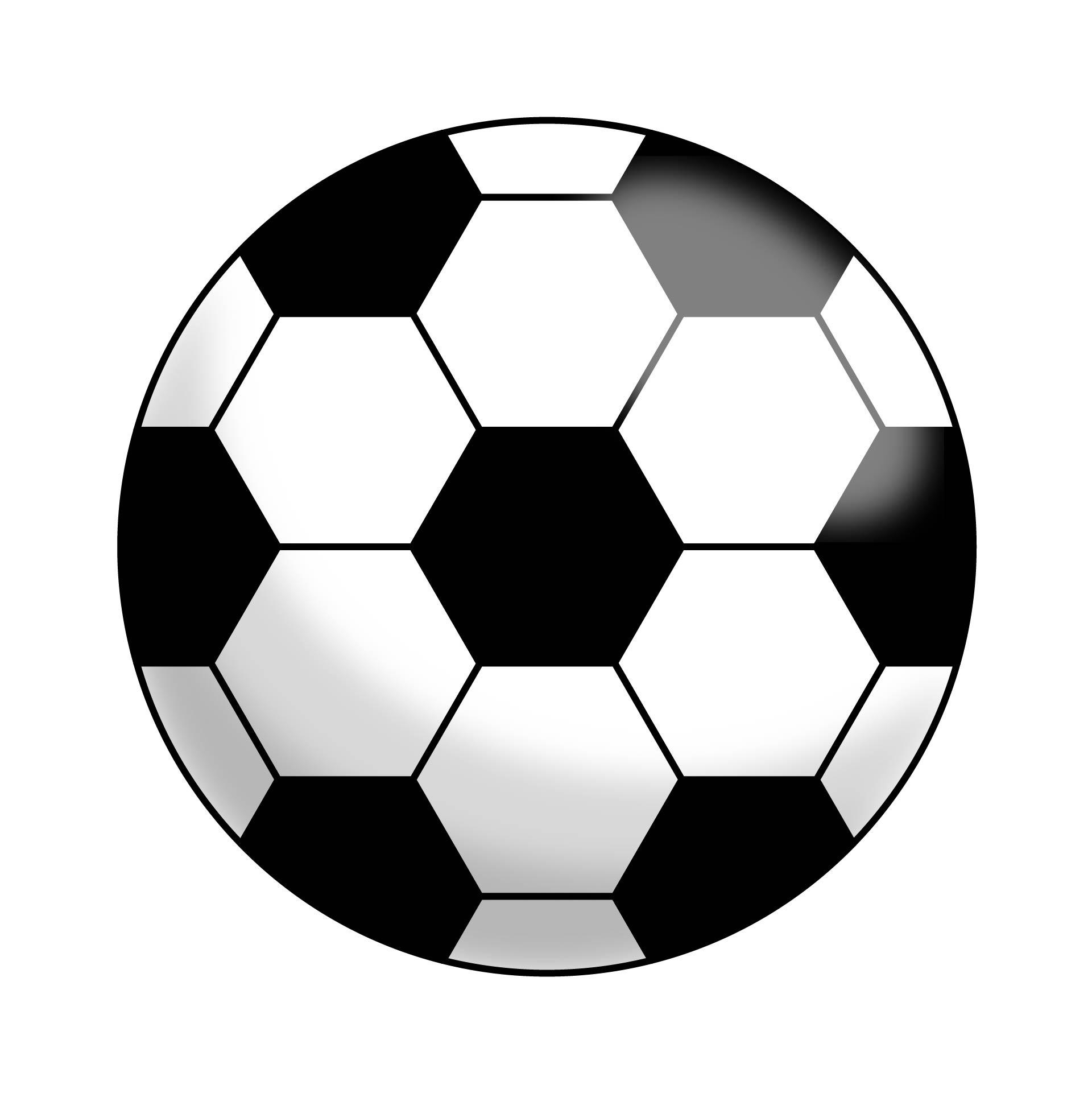 Soccer Ball Clip Art Template