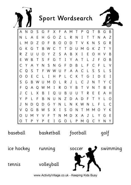Baseball Word Search, Vocabulary, Crossword and More