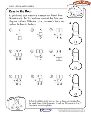 Worksheet Math Printable Worksheets 4th Grade 6 best images of printable math worksheets 4th grade color printable