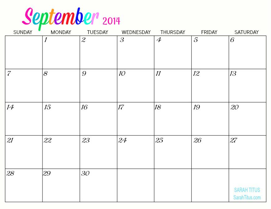 Blank Running Calendar : Best images of printable running calendar blank
