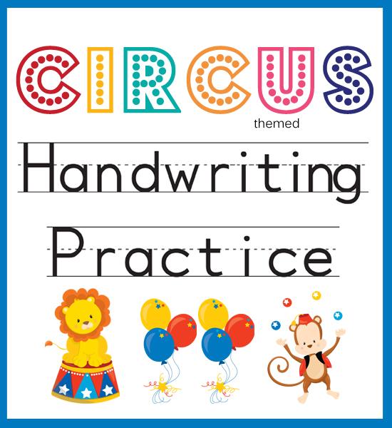Best Images of Circus Printables For Preschool - Preschool Circus ...