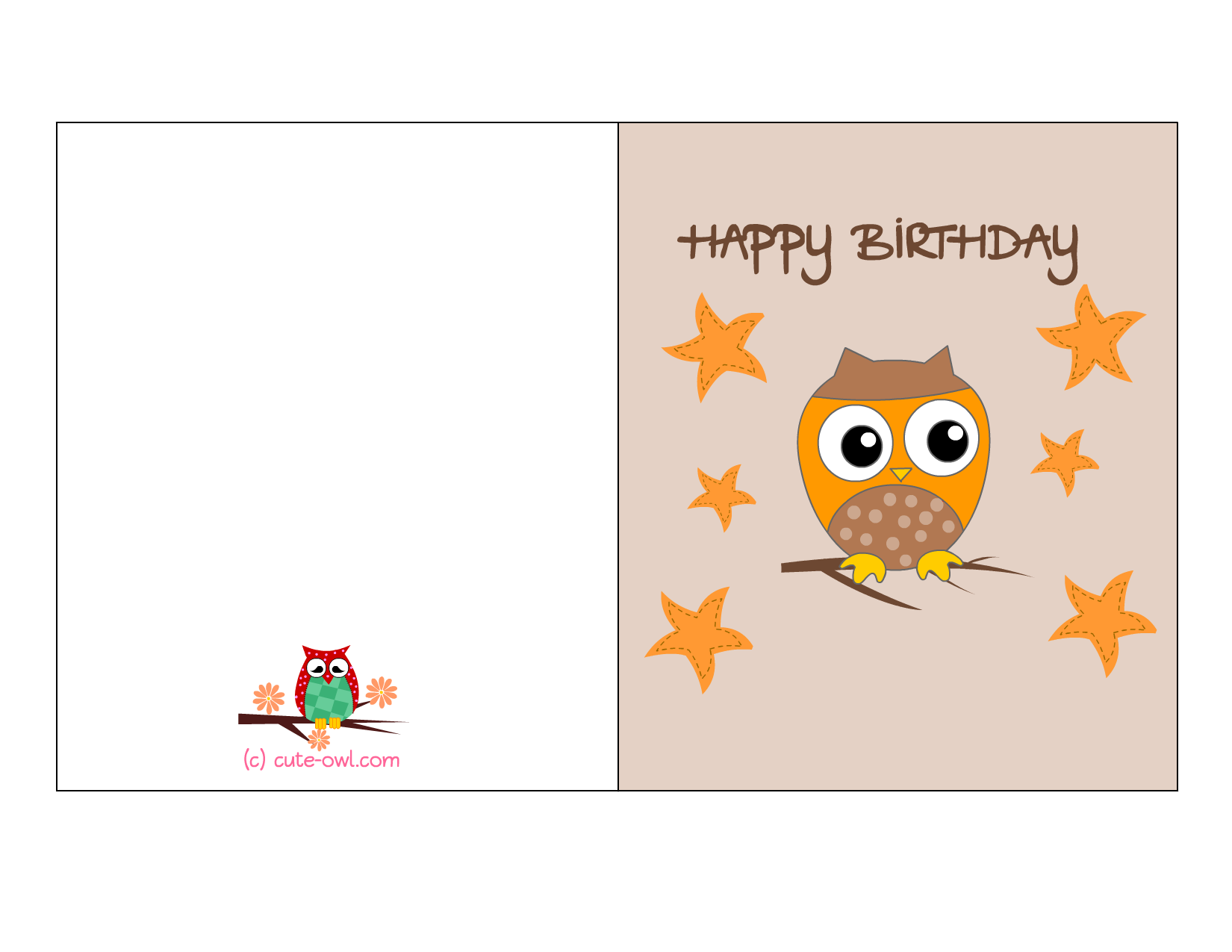 8 Images of Free Printable Happy Birthday Cards