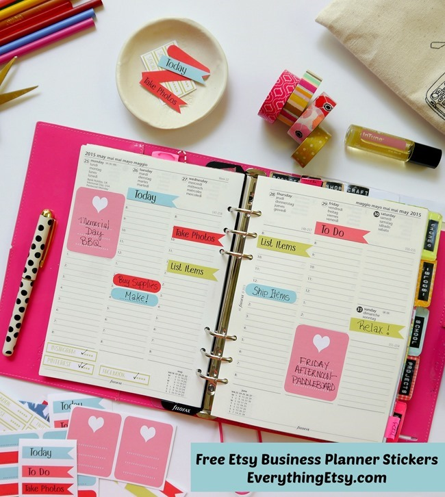7 Images of Etsy Planner Free Printables