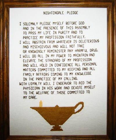 Florence Nightingale Nurses Pledge