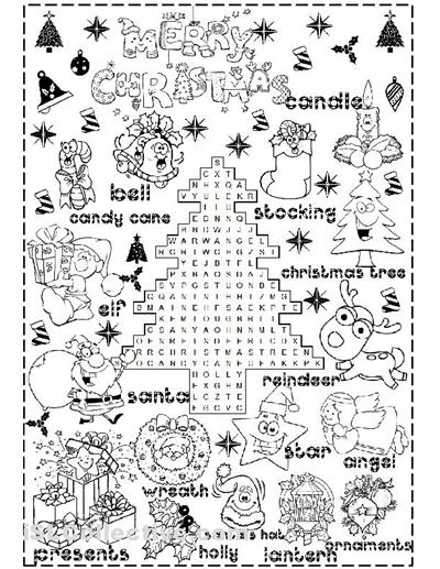 Number Names Worksheets christmas printable worksheets free : Free Printable Christmas Worksheets - Pichaglobal