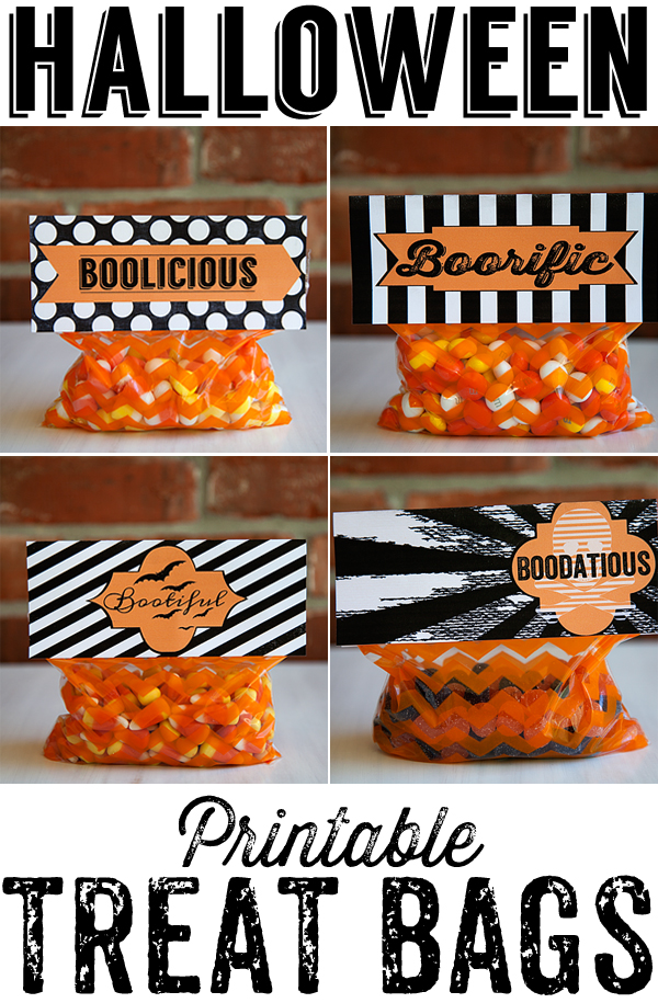 7 Images of Printable Treat Bags