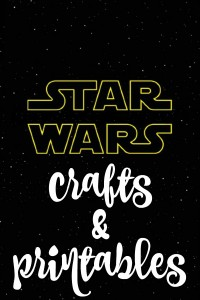 Free Printable Star Wars Crafts