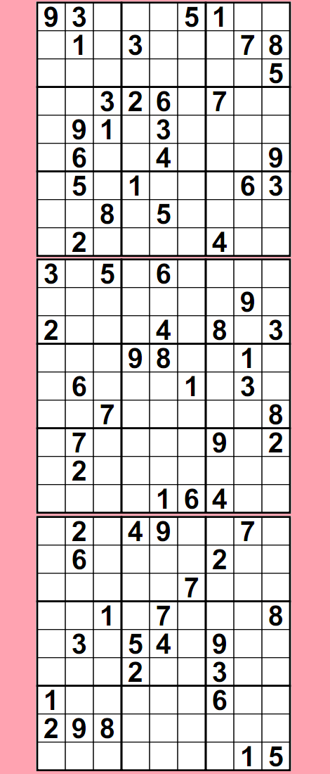 9 Images of Free Printable Sudoku Search Puzzles