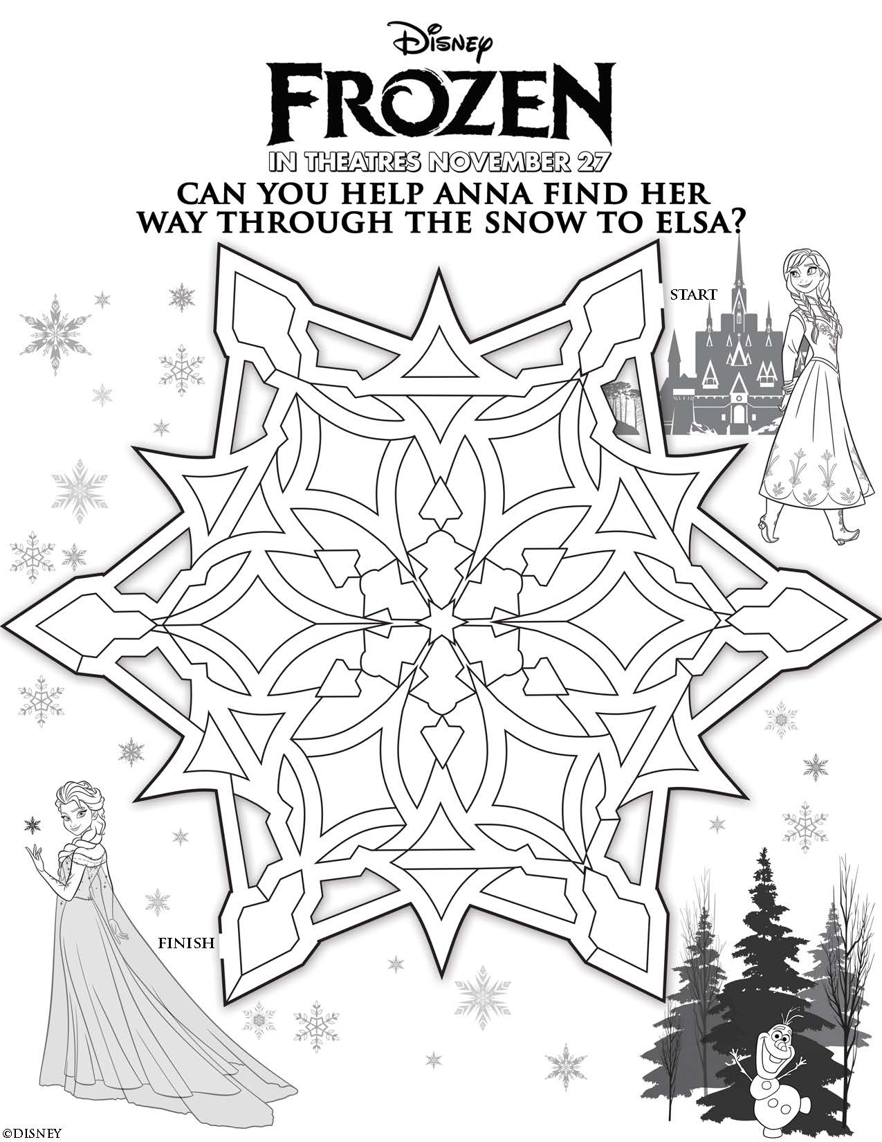 H and m frozen coloring pages - All Frozen Characters Say Happy Easter Coloring Page