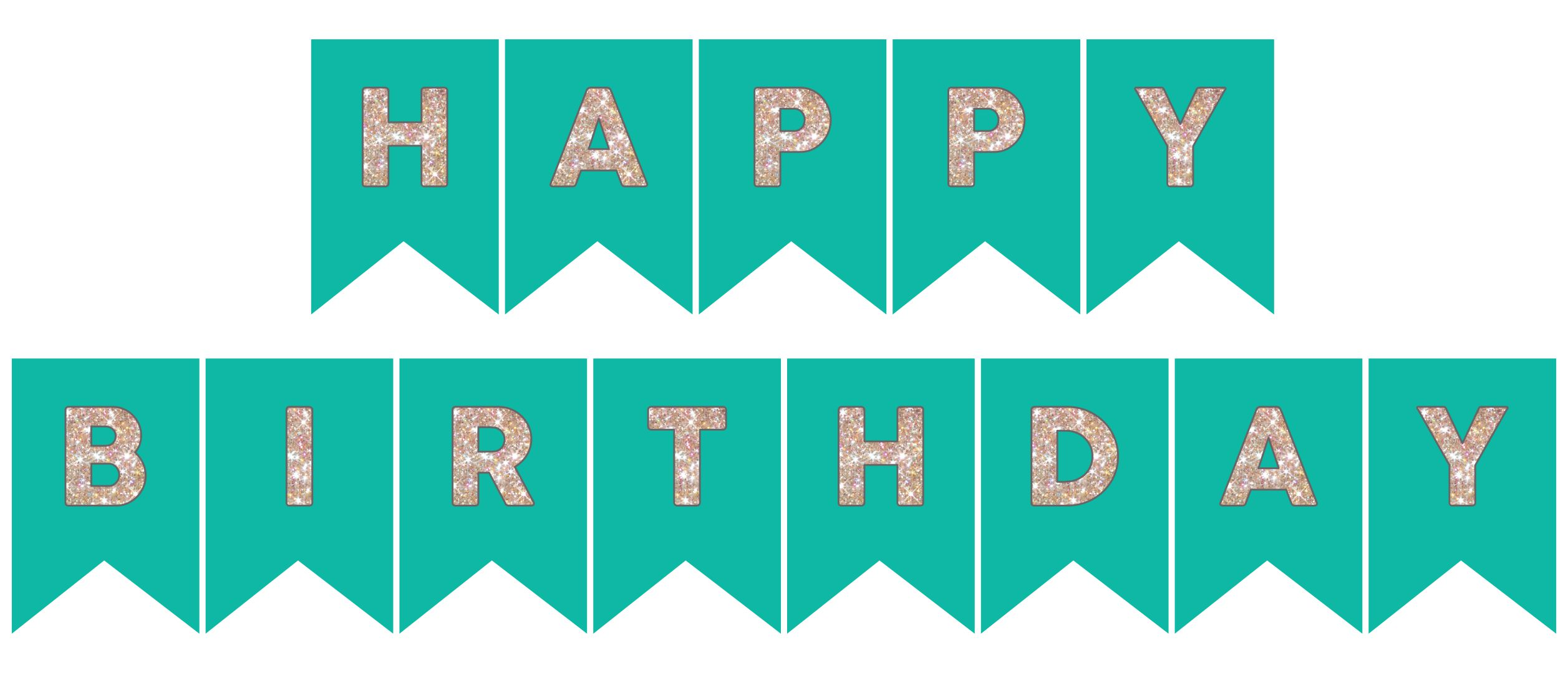 6 Best Happy Birthday Printable Banners Signs - printablee.com
