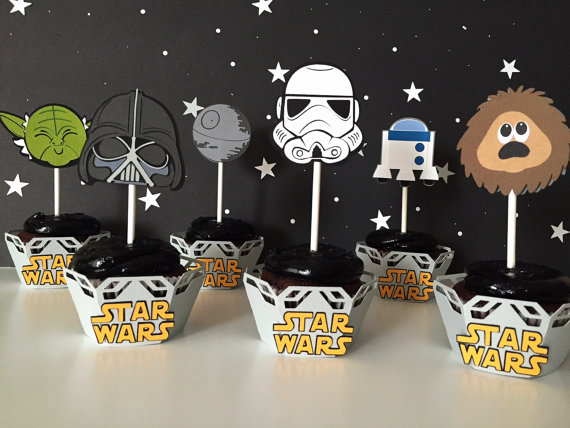 Images of Star Wars Themed Cupcakes