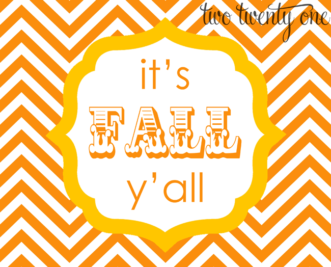 5 Images of Its Fall Y'all Printable