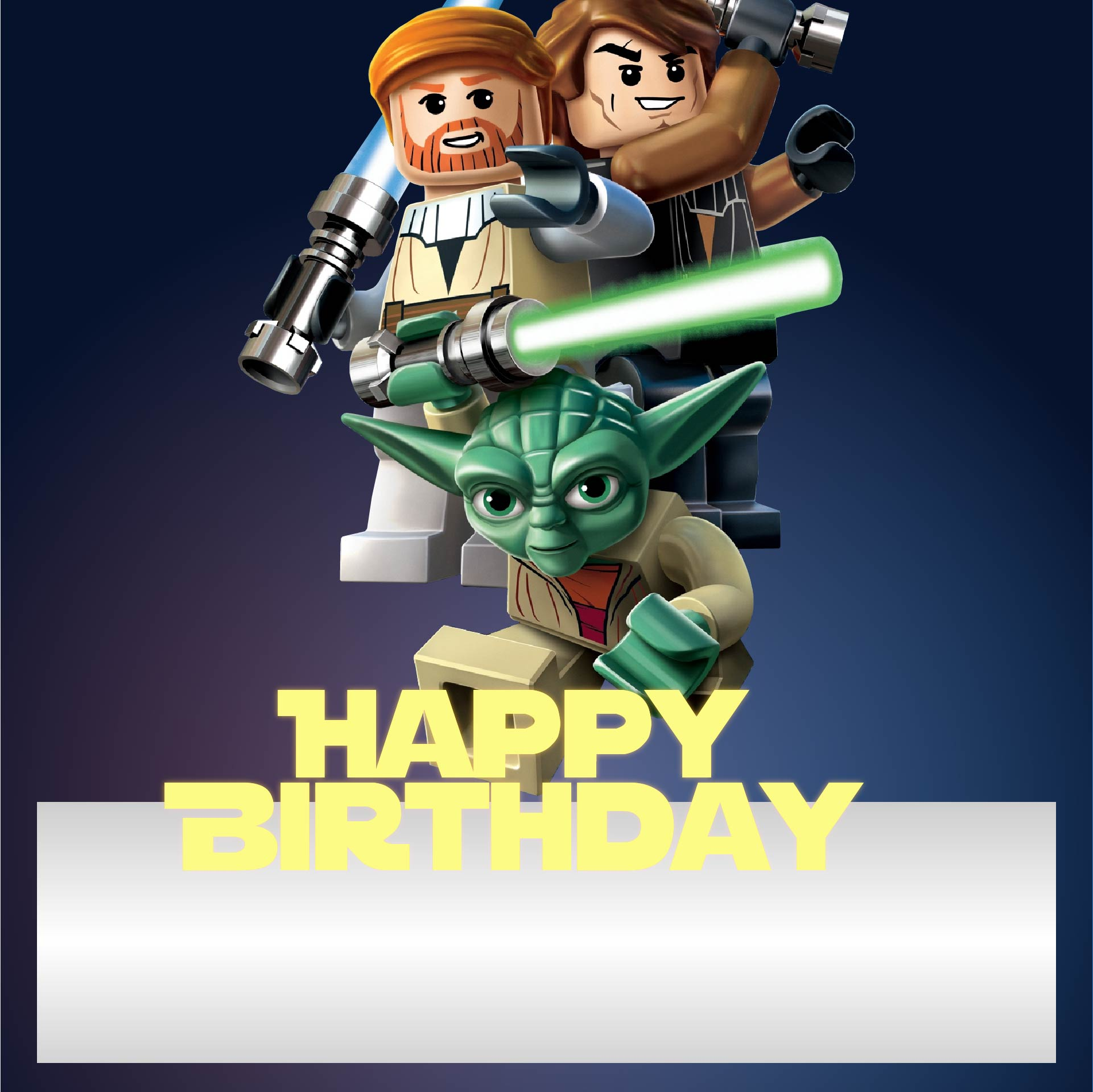 LEGO Star Wars Birthday Card Printable Free