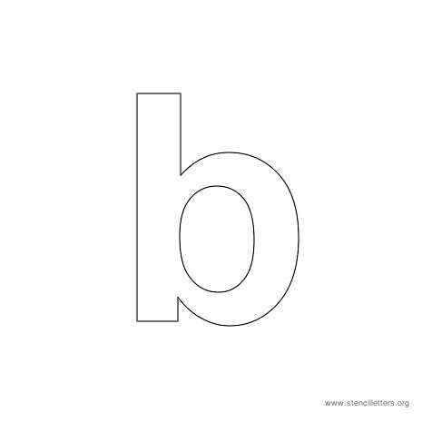 6 Best Images of Lowercase Printable Letter Stencils ...