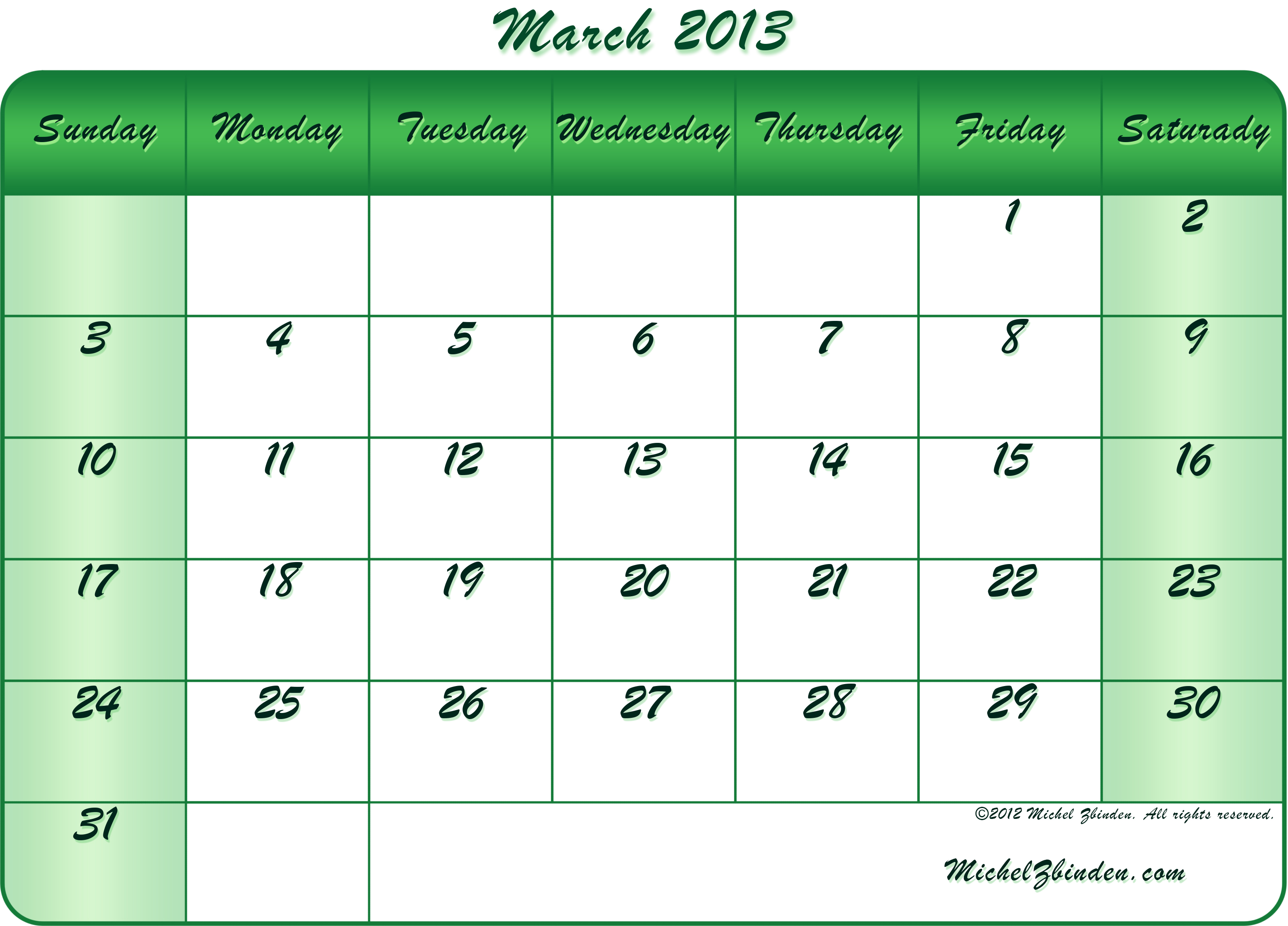 Calendar Of March : Best images of march printable calendar