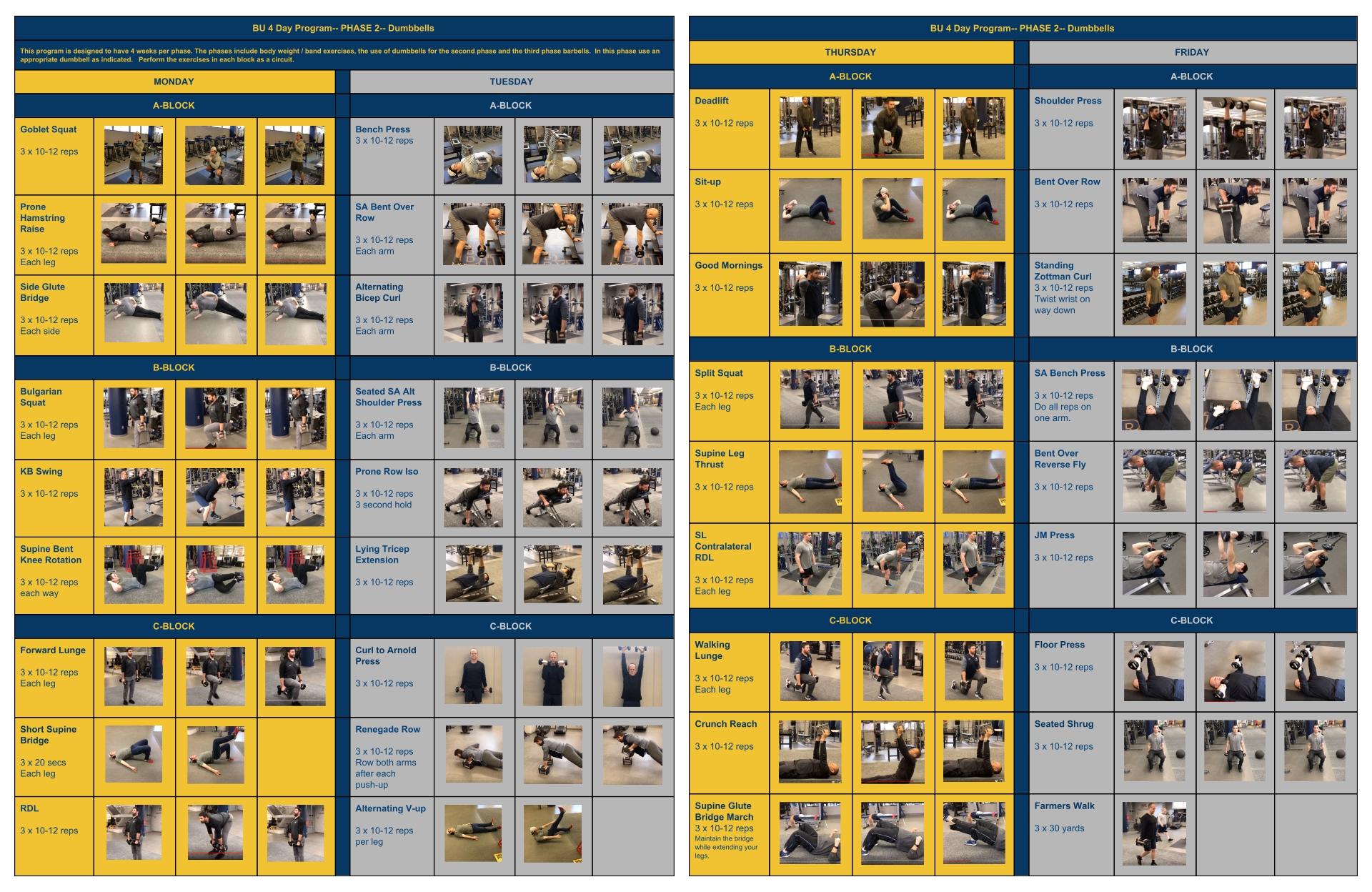 Men Full Body Kettlebell Workouts Printable