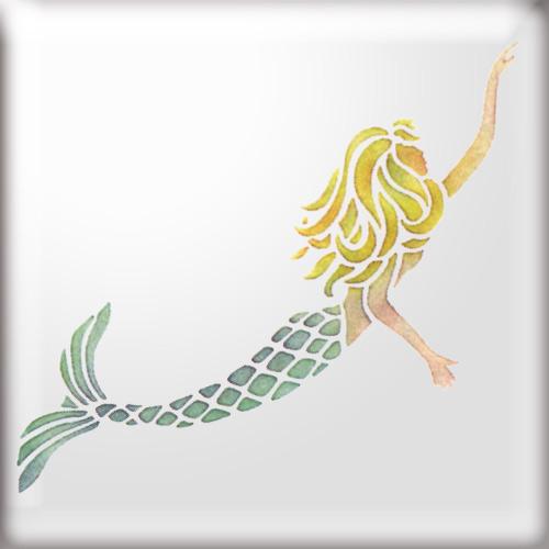 7 Best Images of Printable Mermaid - 35.6KB