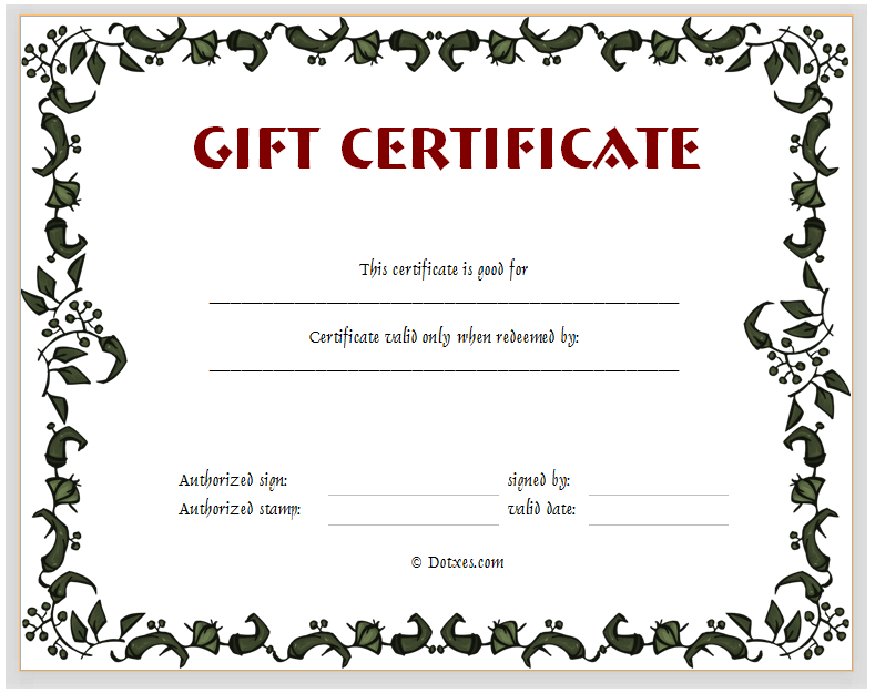free downloadable gift certificate templates - 5 best images of gift card templates printable free gift