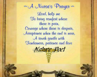 Printable Nurse Poems Prayer