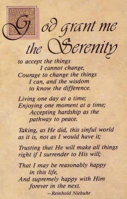 Serenity Version Prayer Full