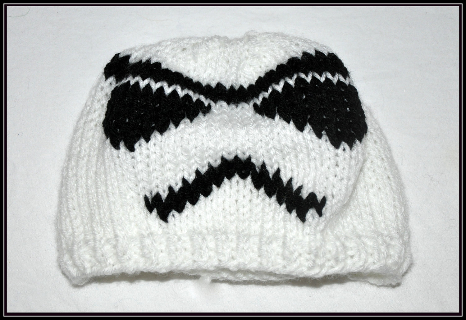 Star Wars Stormtrooper Hats Pattern