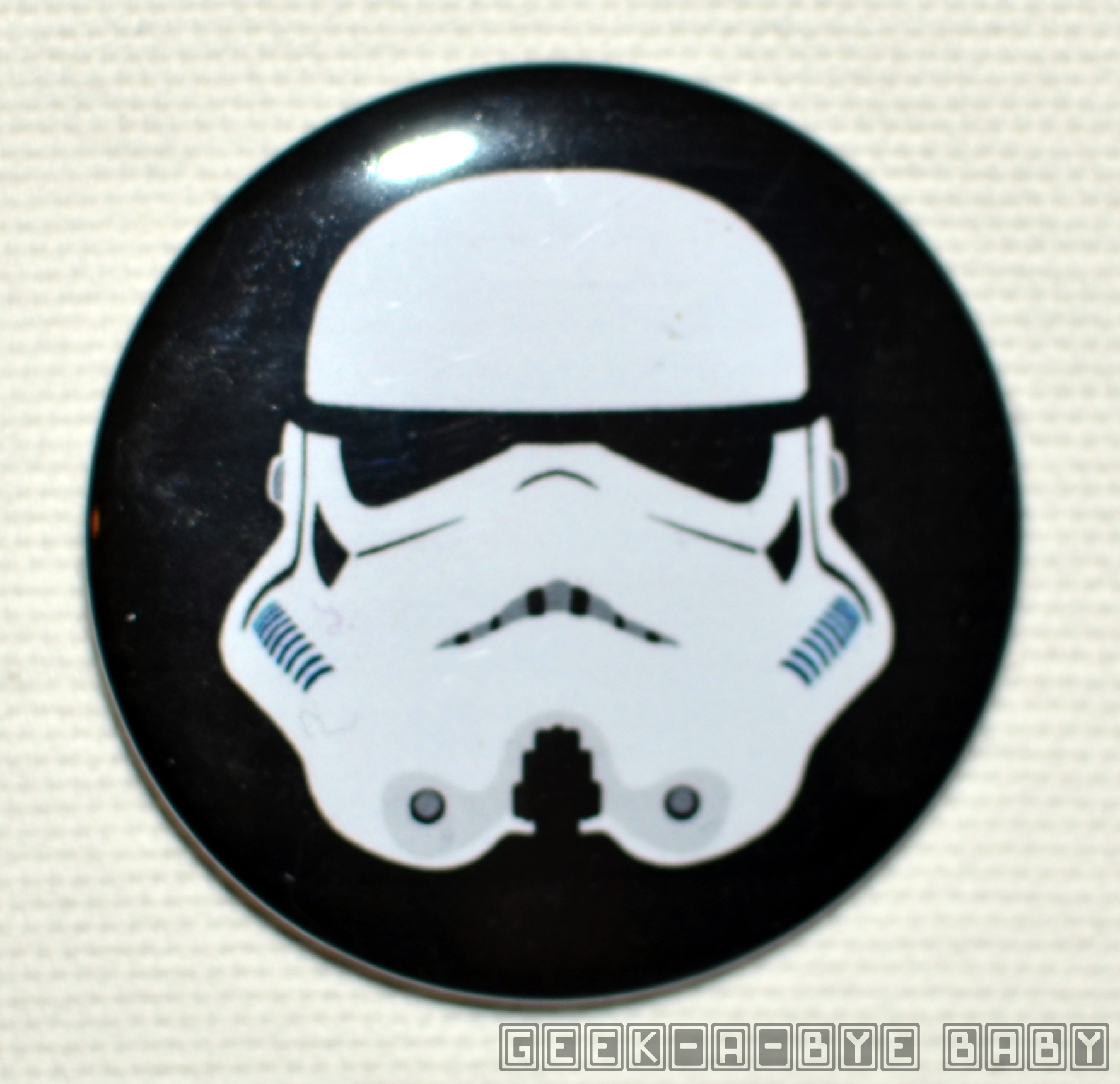 Stormtrooper Button