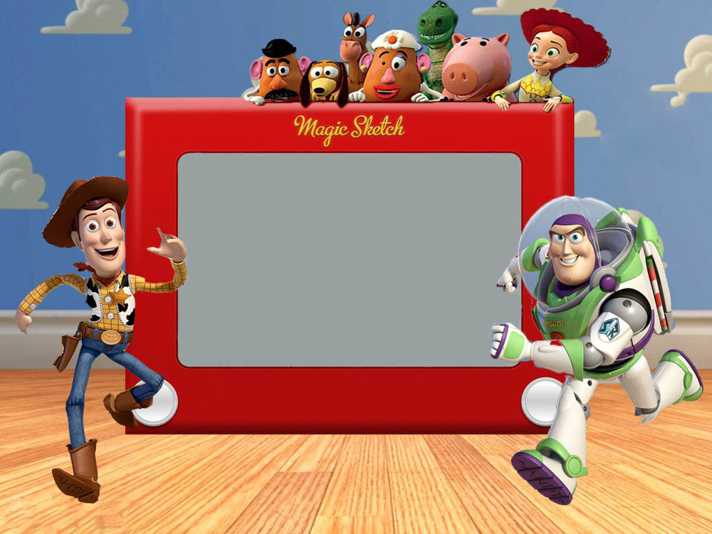 5 Images of Free Printable Toy Story Invitations