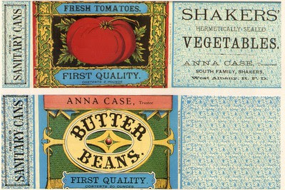 4 Images of Free Printable Vintage Can Labels