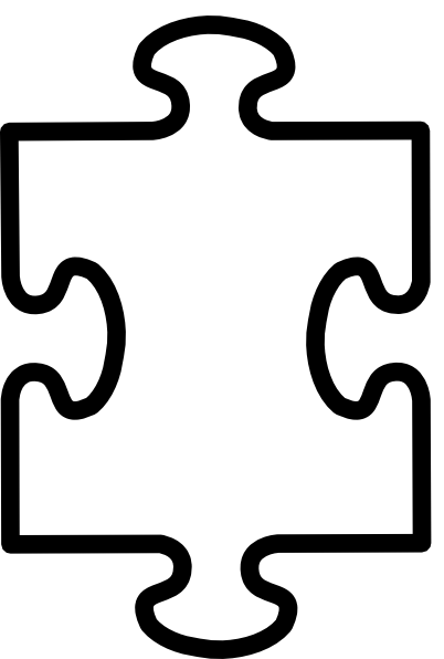 8 Images of Banner Free Printable Puzzle Piece