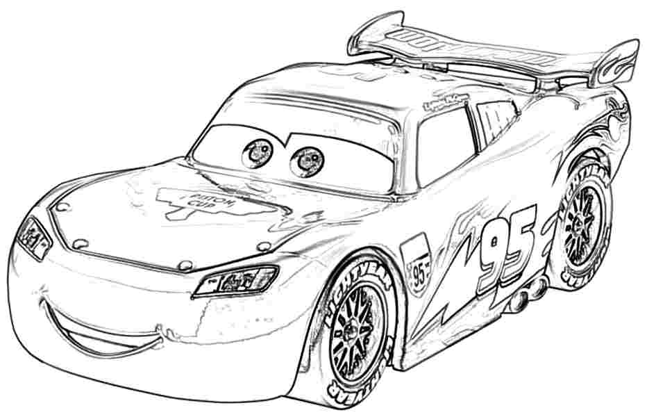 coloring pages of the movie cars | Cars The Movie Coloring Pictures - Sexy Dance
