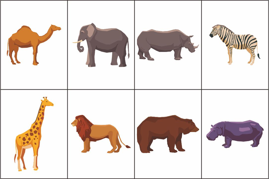 Dear Zoo Printables