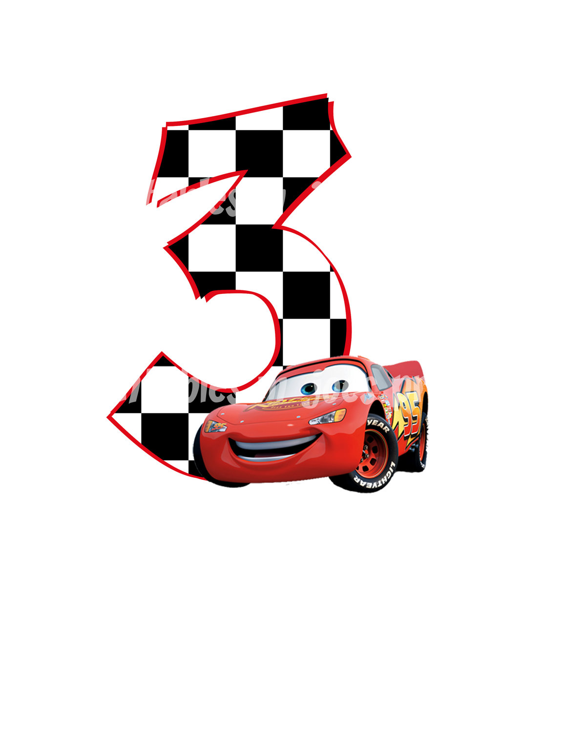 8 Images of Disney Cars Printable Signs