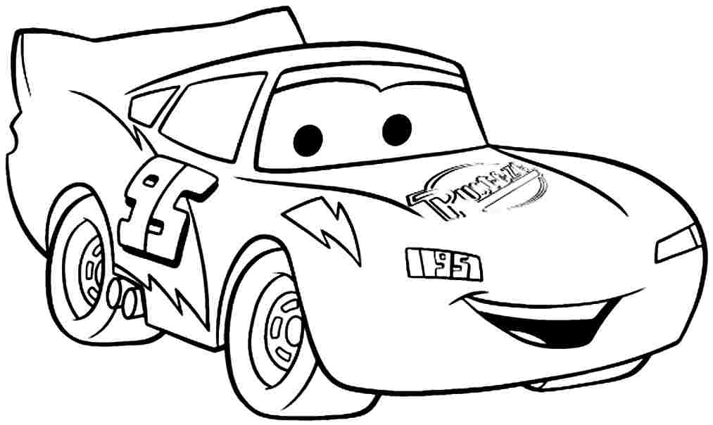 cars character coloring pages - photo#11