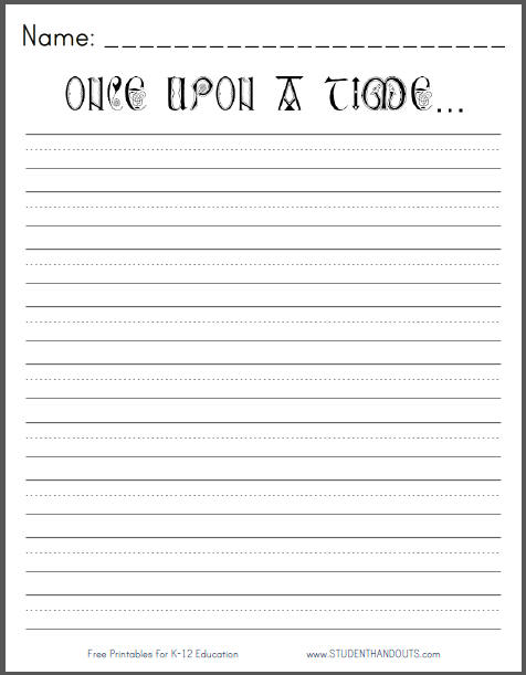 6 Best Images of Printable Templates For 2nd Grade Opinion ...