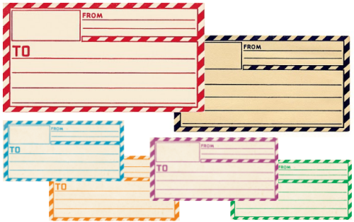 4 Images of Free Printable Mailing Labels Online