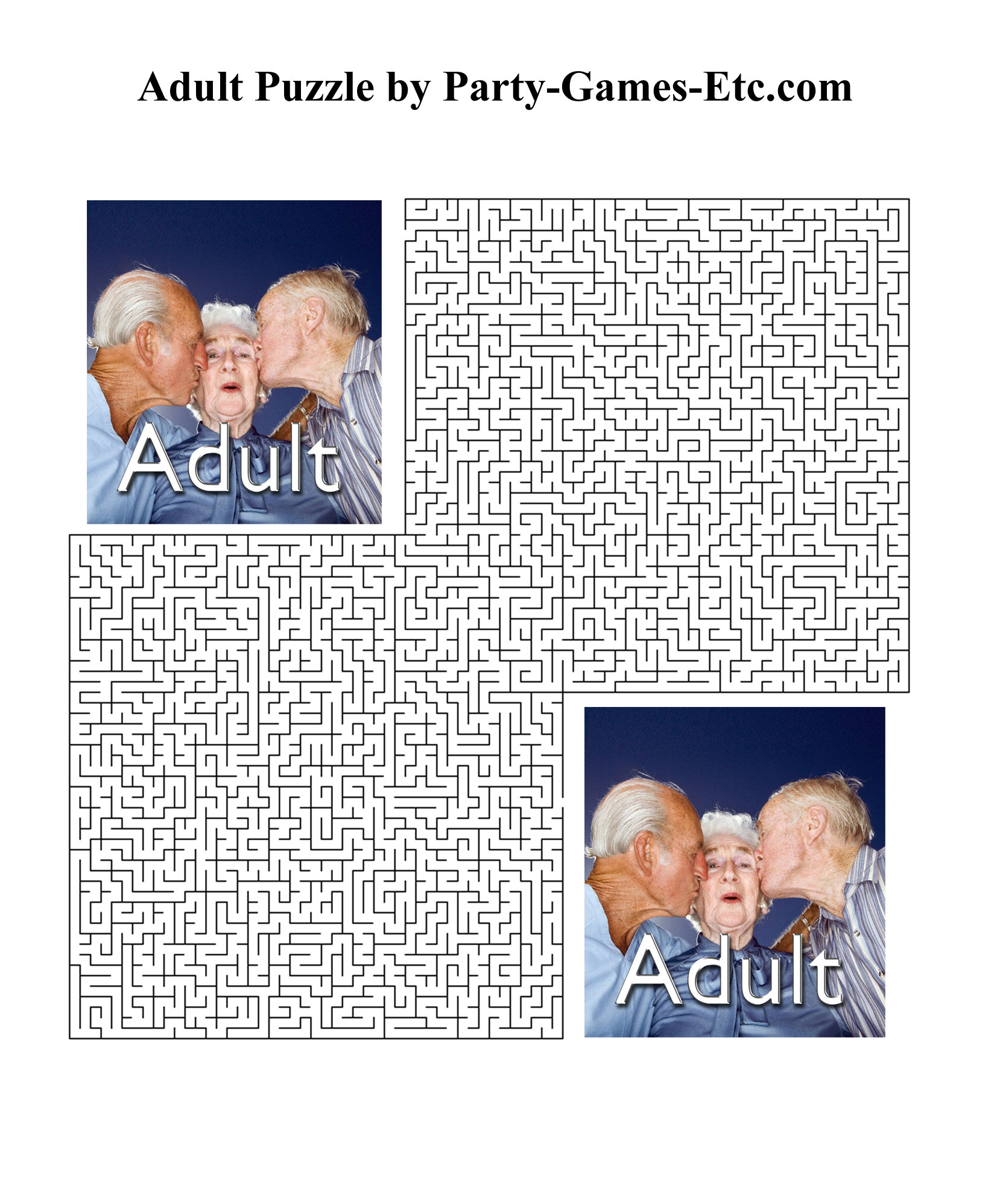 4 Images of Printable Activities For Adults