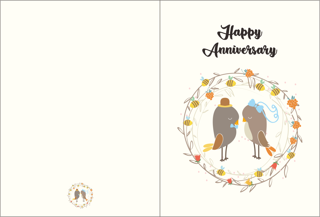 Printable Anniversary Cards for Him