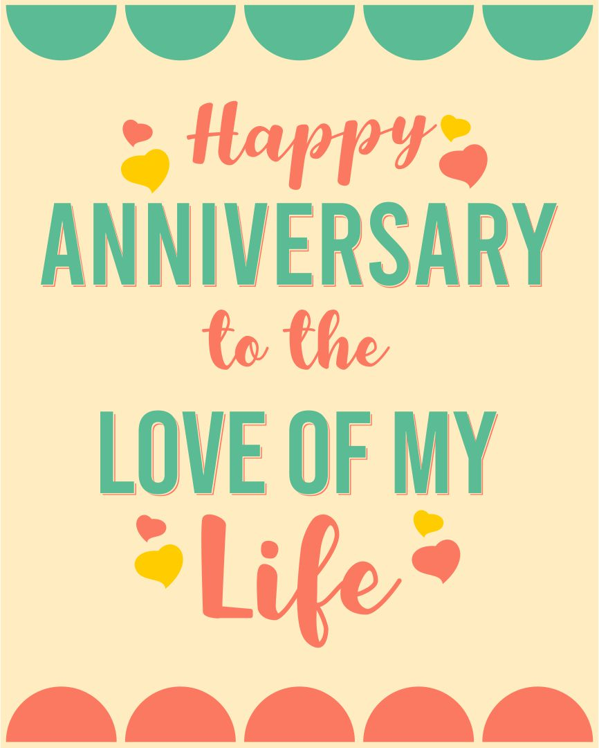 Printable Anniversary Cards