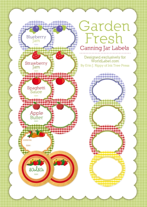 5 Images of Free Printable Jam Jar Labels