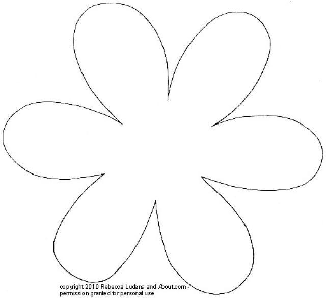 Free Printable Flower Petal Patterns