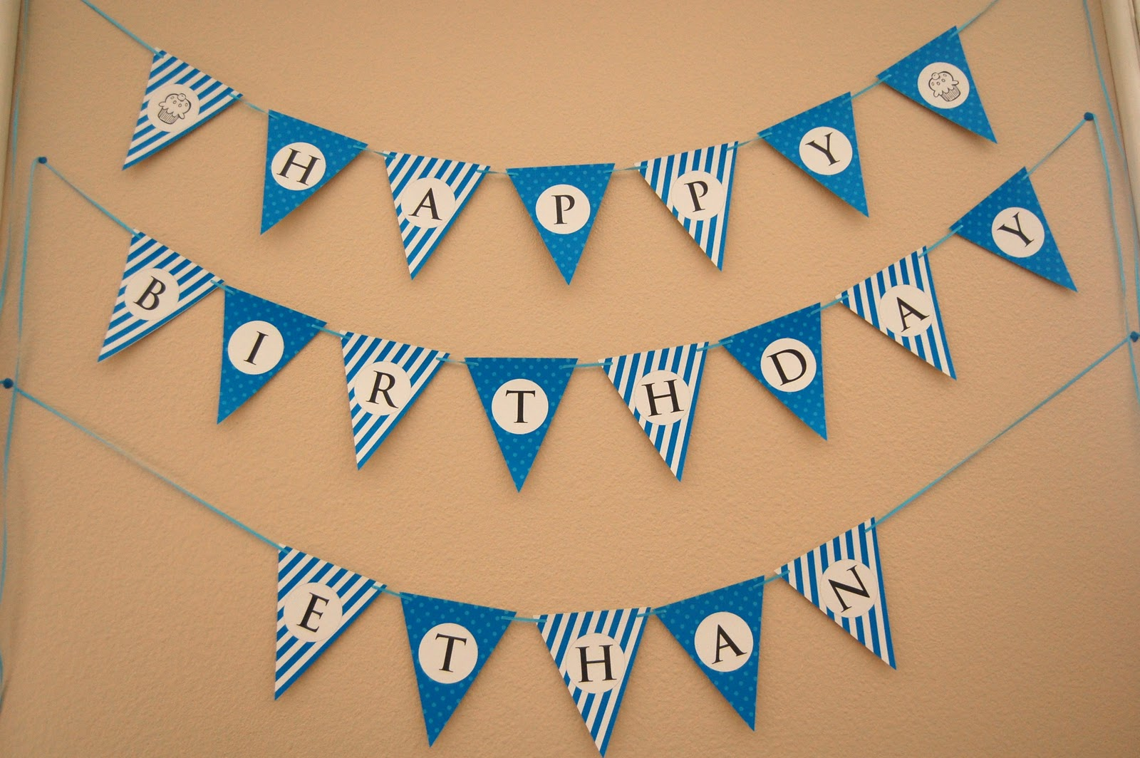 7 Images of Happy Birthday Banner Free Printable Template