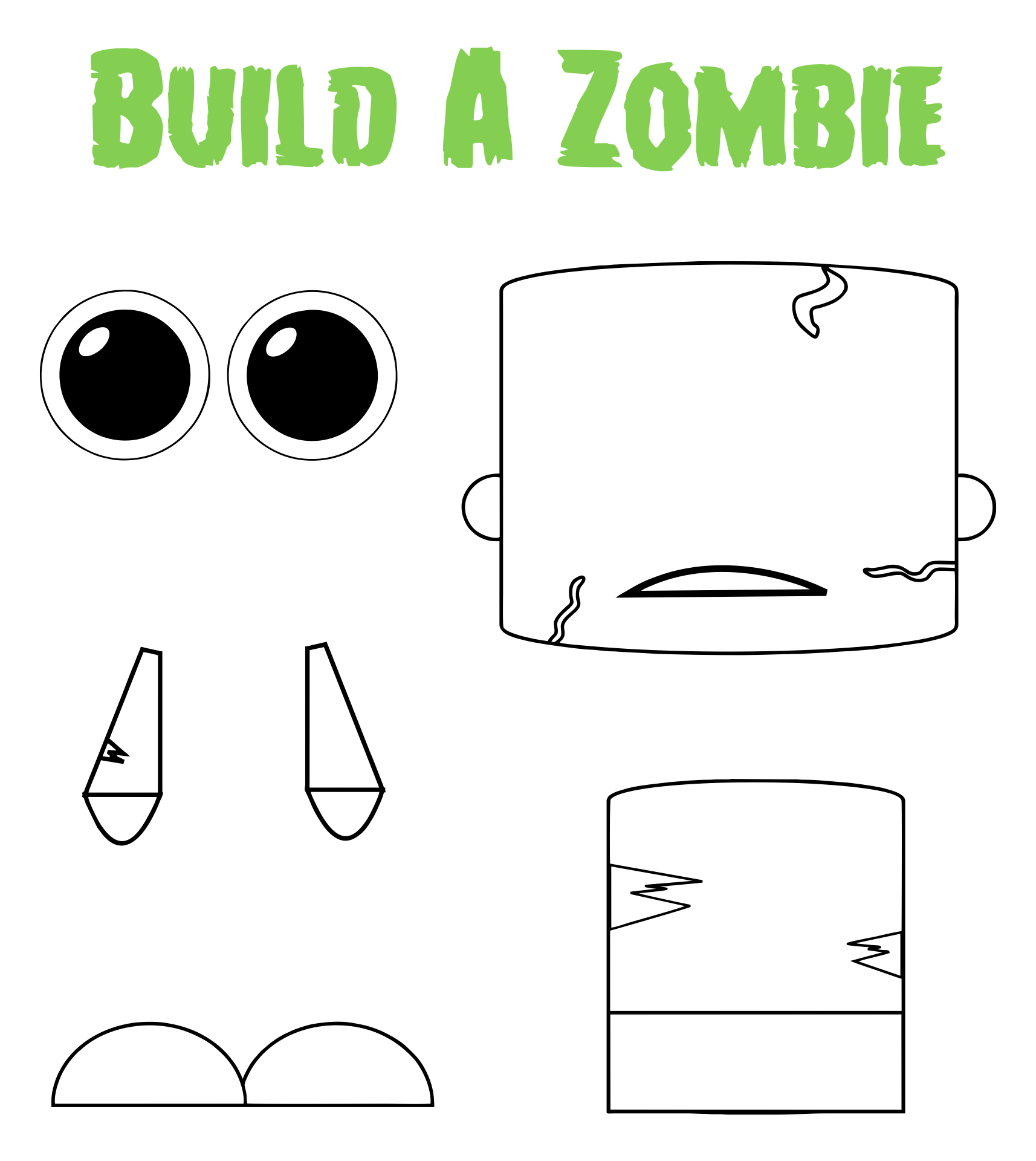 5 Images of Free Halloween Printables For Preschoolers