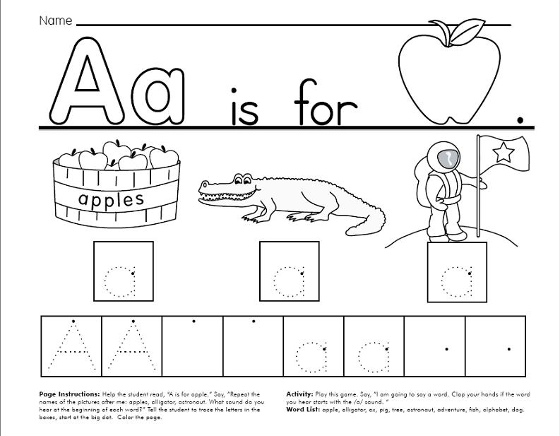 Alphabet Printable Worksheets Free - Capital and Small Letter ...
