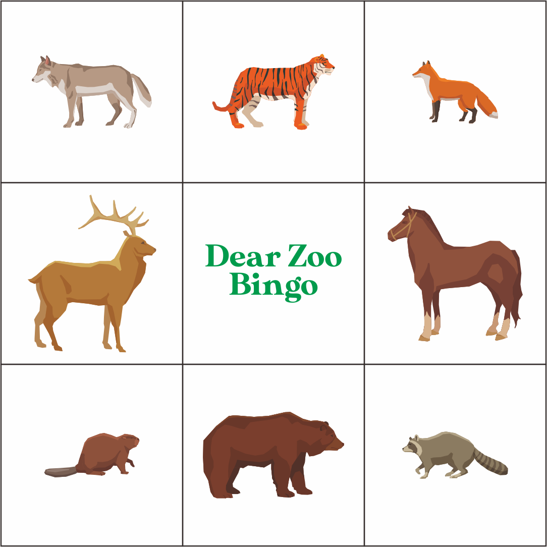 Printable Zoo Animal Worksheets