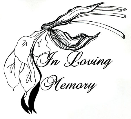 4 Images of In Loving Memory Clip Art Printable
