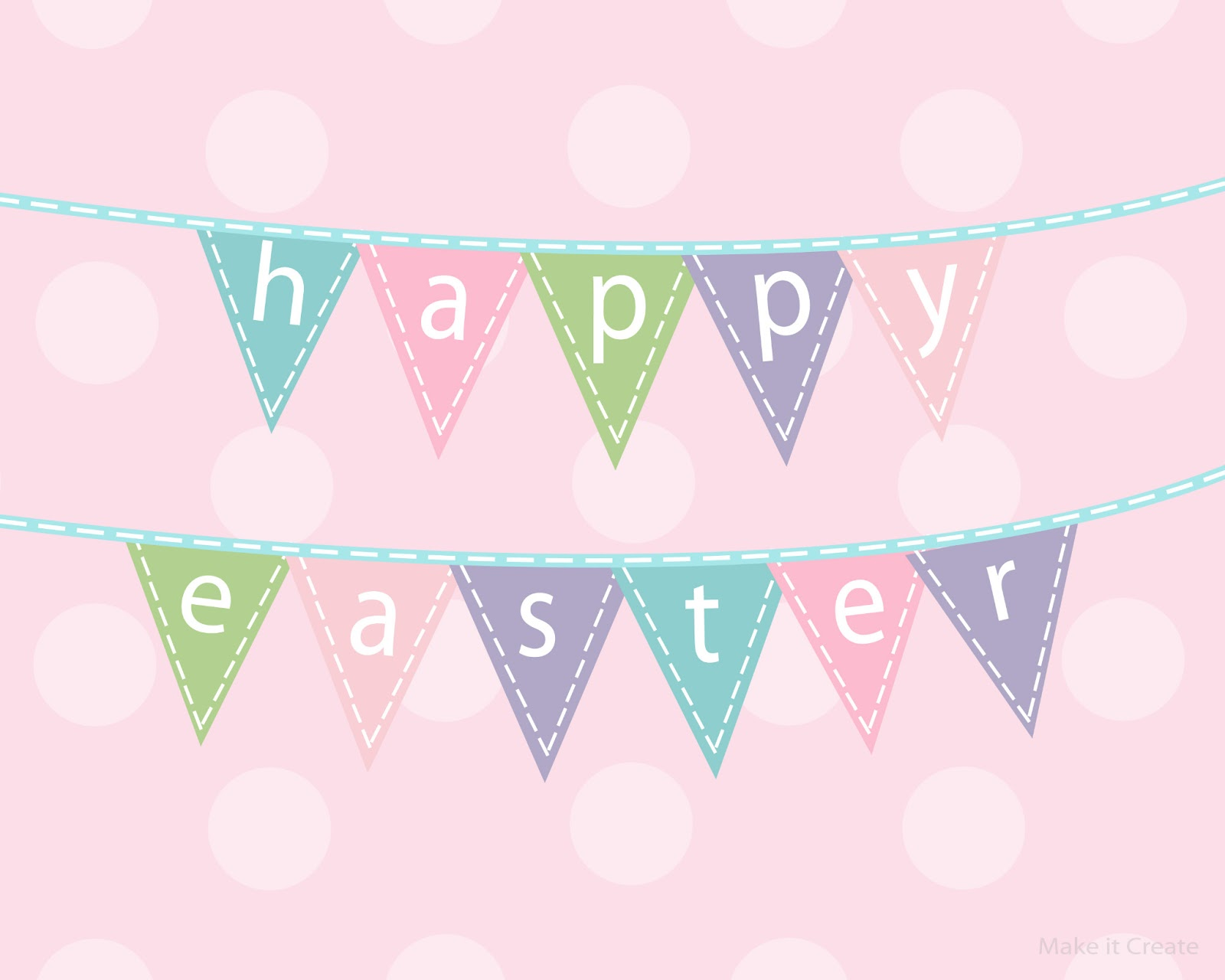 8 Images of Printable Easter Banner