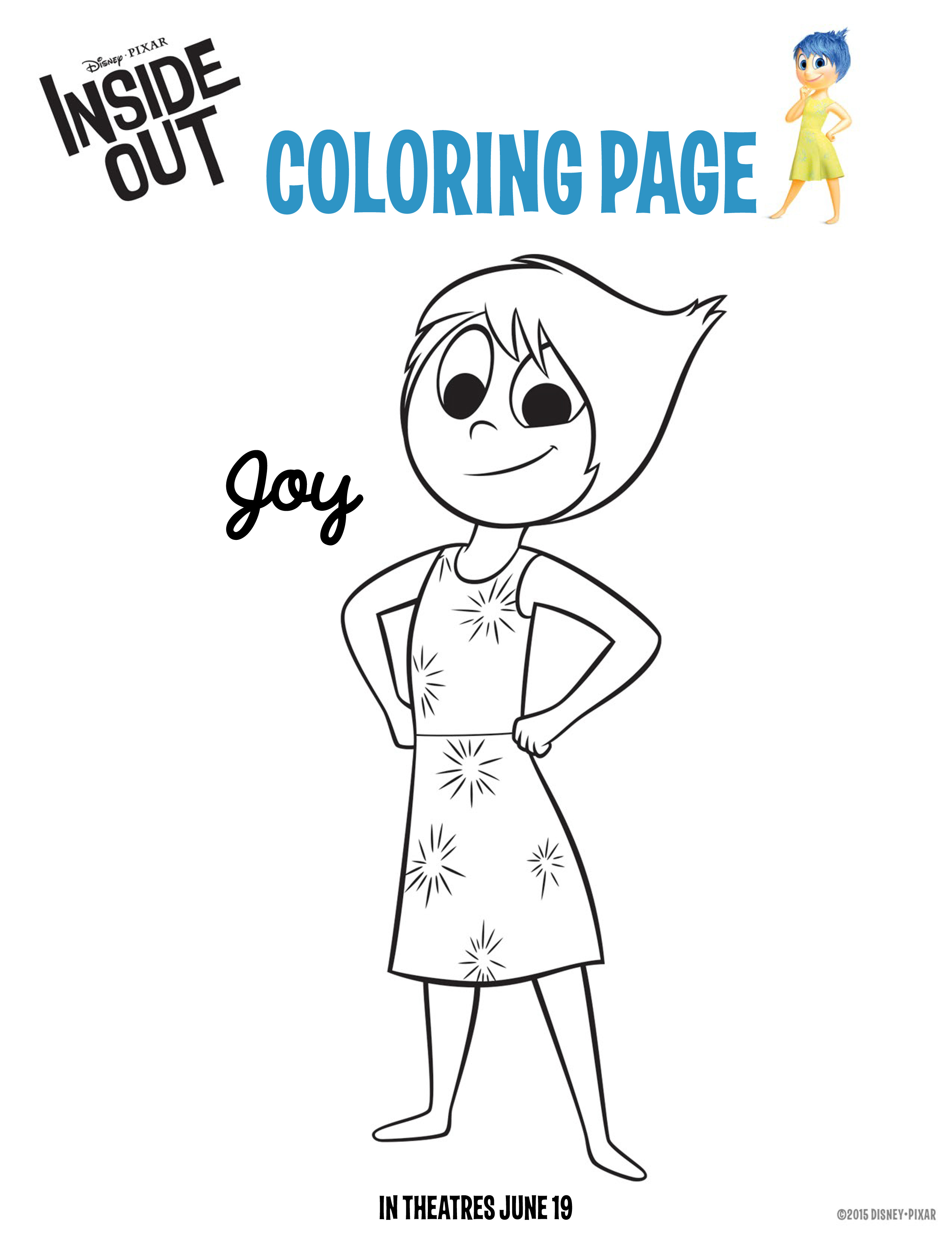 9 Images of Inside Out Movie Coloring Pages Printable